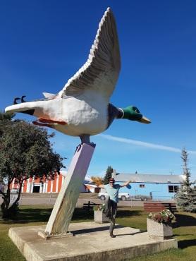 World's largest mallard duck statue